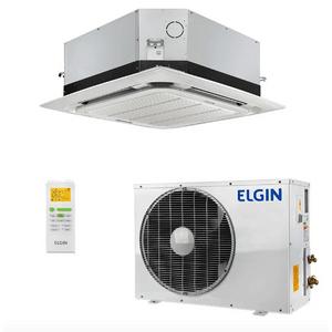 Ar Condicionado Split Cassete Elgin 360° Eco 48000 BTUs Quente e Frio 380v Trifásico