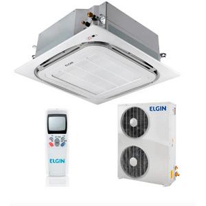 Ar Condicionado Split Cassete Elgin 360° Atualle Eco 48000 BTUs Quente e Frio 220v Trifásico