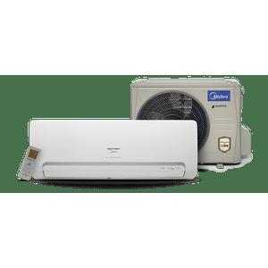 Ar-condicionado Split Springer Midea Hi-wall Inverter 18000 BTUs Quente e Frio 220v