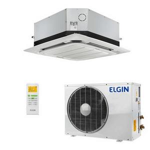 Ar Condicionado Split Cassete Elgin 360° Eco 36.000 Btus Quente E Frio 220v