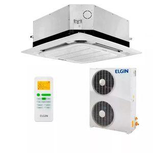Ar Condicionado Split Cassete Elgin 360° Eco 60000 BTUs Quente e Frio 380v