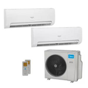 Ar Condicionado Multi Split Inverter Springer Midea 18000 Btus (1x Evap Hw 9000 + 1x Evap Hw 12000) Quente E Frio 220v