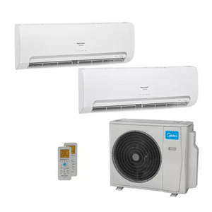 Ar Condicionado Multi Split Inverter Springer Midea 18000 Btus (2x Evap Hw 12000) Quente E Frio 220v