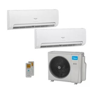 Ar Condicionado Multi Split Inverter Springer Midea 18000 Btus (2x Evap HW 9000) Quente E Frio 220v