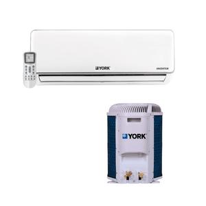 Ar Condicionado Split Hi Wall Inverter HomeStar York 12000 BTUs Quente e Frio 220v